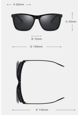 Badtemper Fashion Sunglasses Men Polarized Driving Mirrors Coating Points Frame Eyewear Male Sun Glasses UV400