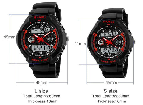 Unisex Children's Watch Sport LED Quartz Digital Waterproof