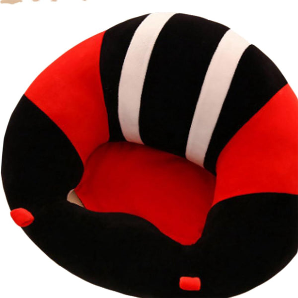 Baby Support Seat Plush Soft Sofa Infant Learning To Sit Chair Keep Sitting Posture Comfortable For 0-6 Months
