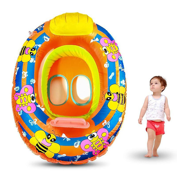 Hot Sale Kids Baby Child Inflatable Swimming Laps Pool Ring Seat Float Boat Outdoor Funny Water Sports Toys