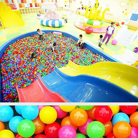 100Pcs Colorful Ball Ocean Balls Soft Plastic Baby Kid Swim Pit ToyHigh Quality