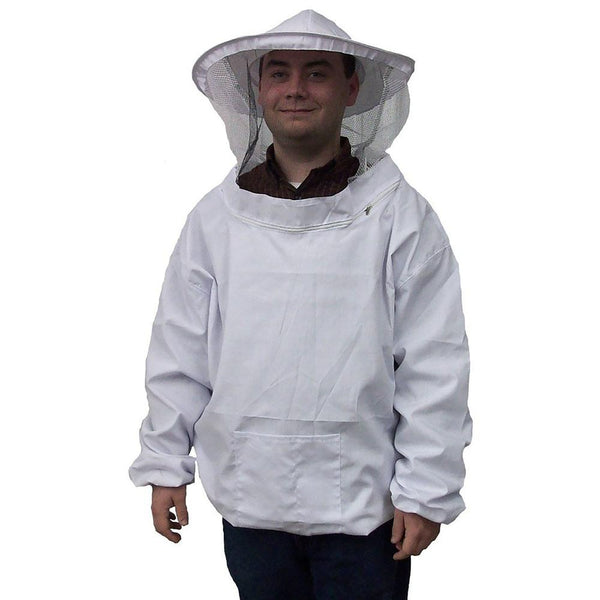 New Camouflage Beekeeping Jacket Protective Veil Smock Bee Coat Suit Clothes Defense Supplies