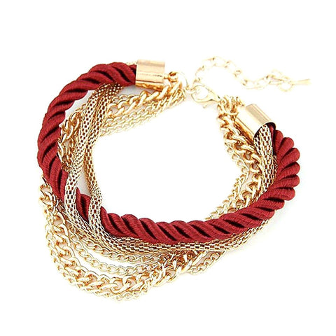 New Fashion Rope Chain Bracelet Decoration for Girl of Six Colors Hot Selling Special Summer Party Accessory