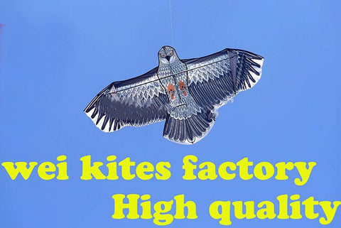 Free Shipping With100m Handle Line Outdoor Fun Sports 1.6m Eagle Kite High Quality Flying Higher Big Kites Wei Kites Factory