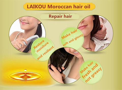 Monaco NUT Hair Oil Argan Oil 60ml Keratin Free Clean Hair Curly Treatment Care Mask Free Shipping