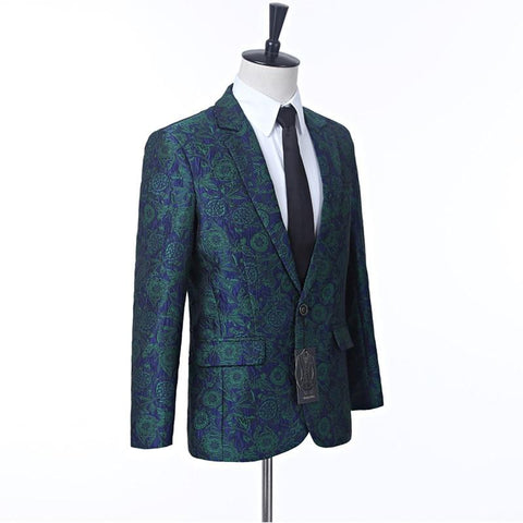 Jacket men's blazer fashion slim suit business casual formal custom size