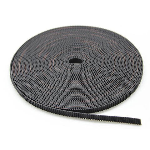 10meter Black Rubber GT2-6mm Open Timing Belt Width 6mm GT2For 3D Printer Pulley A604