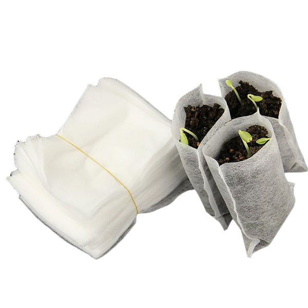 Nursery Pots 100pcs/lot 8 by 10cm Environment Friendly