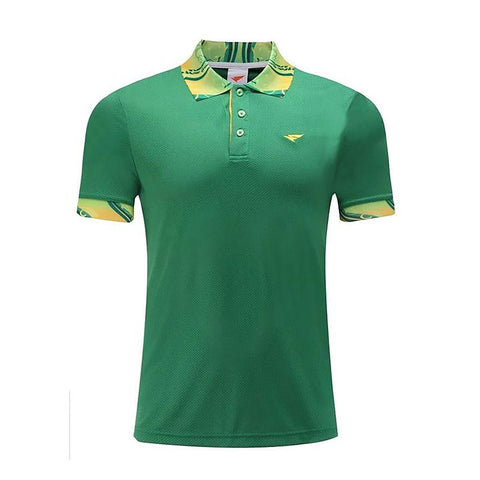 High Quality Quick Dry Golf Men Sportwear Polo Shirt Clothing Sports Leisure T Turn-down Collar Breathable Clothes
