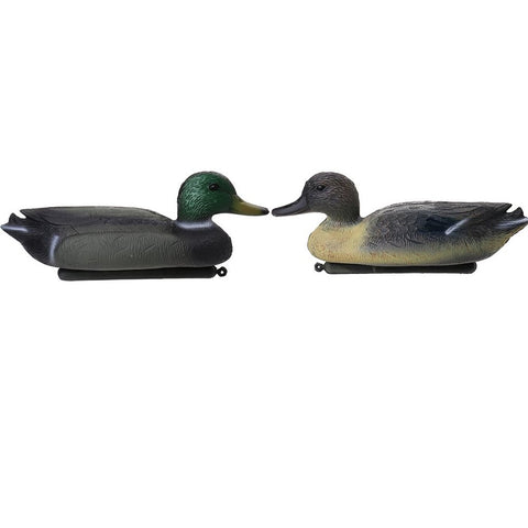 Male Decoy Plastic Duck with Flotating Keel for Fishing Hunting Outdoor Camping
