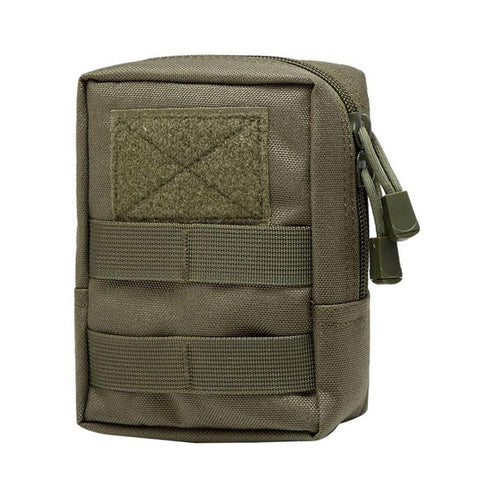 1000D Outdoor Military Tactical Waist Bag Multifunctional EDC Molle Tool Zipper Pack Accessory Durable Belt Pouch