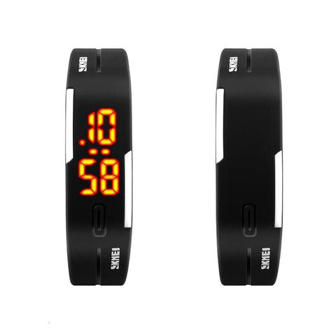 Unisex All Ages Sport Watch LED Electronic Digital Morning Running Sport