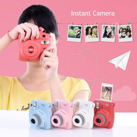 Film Camera Photo Instant Pop-up Lens Auto Metering