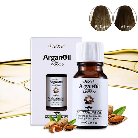 10ml Dexe Hair Care Argan Oil Pure From Morocco Arganovoe Moroccan Nourishing Helps To Soft And Shiny