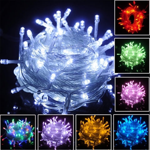 Light Strap Lamp Waterproof Decoration for Outdoor Indoor Tree Ornament Christmas 10m 220V