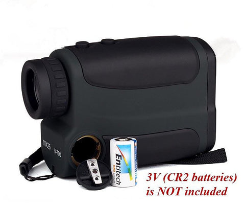 Optics 700m Laser Rangefinder Scope 10X25 Binoculars Hunting Golf Range Finder Outdoor Distance Meter Measure Telescope