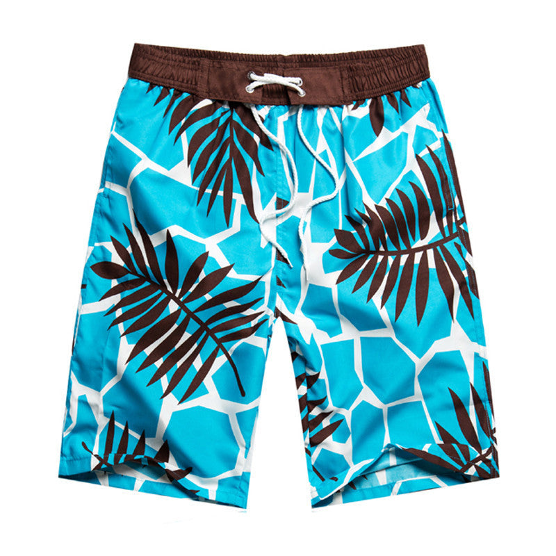 Men's Clothing 2019 Men Sports Shorts Couple Lovers Summer Drawstring Stylish Floral Printed Beach Shorts For Men Loose Quick-dry Short Pants Regular Tea Drinking Improves Your Health