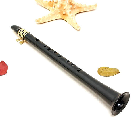 Portable LittleSax Mini Sax Little Saxophone Alto Pocket Xaphoon Woodwind With Durable Reed Mouthpiece Cap