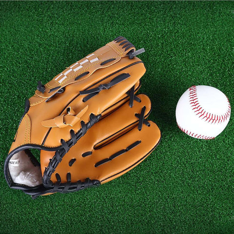 Unisex Adult's Baseball/Softball Glove Practice Equipment Left Hand Outdoor Sport Sizes 10.5/11.5/22/5
