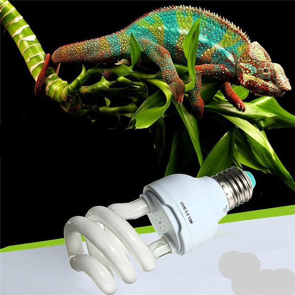 Reptil/Amphibians Pet's Light Bulb Heat Emmiter Ultraviolet E27 5.0 10.0 UVB 13W