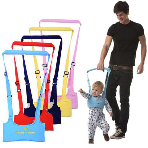 Infant Walking Belt Adjustable Strap Leashes Baby Learning Assistant Toddler Safety Harness Protection