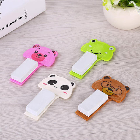 Toilet Seat Lifting Device Clamshell Holder Cartoon Design