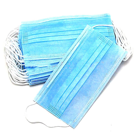 Surgical Face Mask Respirator Disposable Dental Mouth Medical Dust 50 pcs