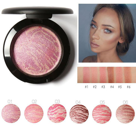 Brand FOCALLURE Make Up Blushes Face Bronzer Powder Cosmetic Natural Base Makeup Highlighter Contour Blush