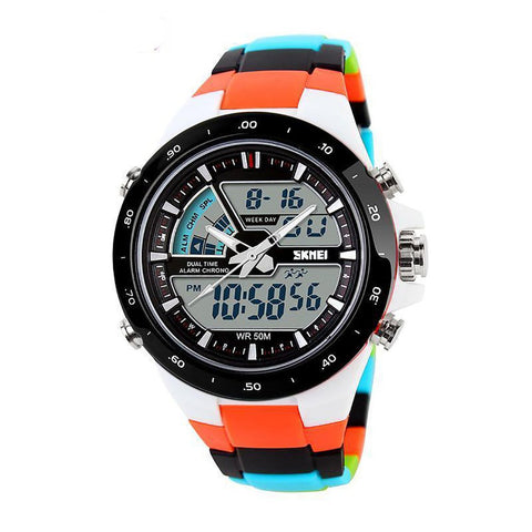 Women's Watch LED Digital Military Sport Quartz