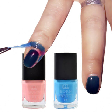1 PC 6ml Blue Pink Born Pretty Liquid Tape & Peel Off Base Coat Nail Art Palisade Latex (Random Delivery )