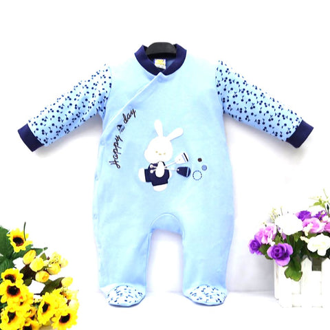 Baby Boy's One Piece Romper Pure Cotton Spring Autumn