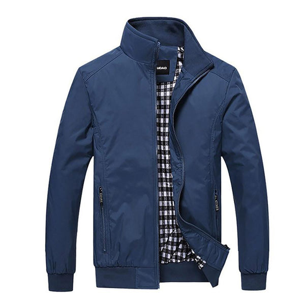 New 2017 Jacket Men Fashion Casual LooseMens Sportswear Bomber Jackets And Coats Plus Size M- 5XL