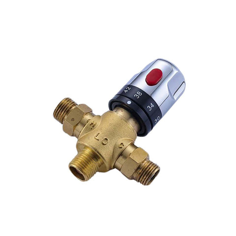 Thermostatic Mixing Valve Temperature Control for Solar Water Heater