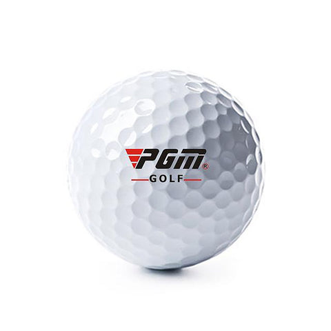 PGM Outdoor Sport Golf Game Training Match Competition Rubber Three Layers High Grade Ball White