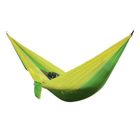 Portable Parachute Hammock Good for 2 People Flyknit Travel Camping Gear