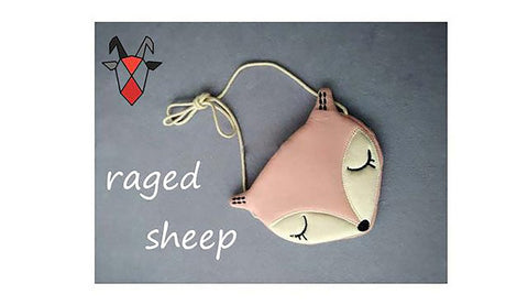 Raged Sheep Lovely Children One Shoulder Bag Coin Purse Cute Fox Girls Messenger Baby Accessories
