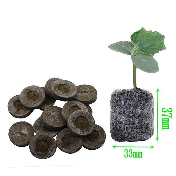 Nursery Soil Block Garden Flowers Planting Cultivate Seed Migration Tools 8pcs/set