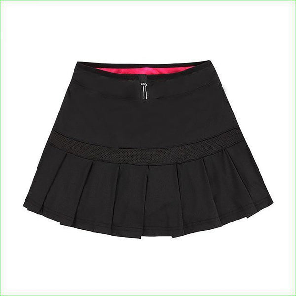 Women's Sport Skirt Pleated A-line with Shorts Breathable Quick Dry for Tennis