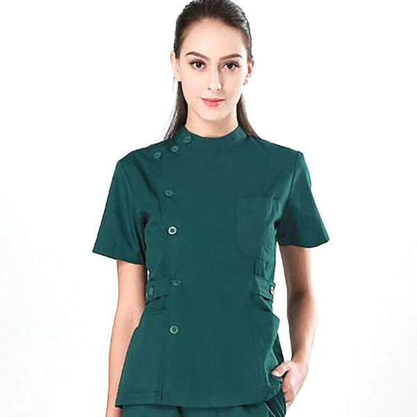 Women's Medical Suit Uniform for Holspital Nursing Dental Clinic Beauty Salon Surgical