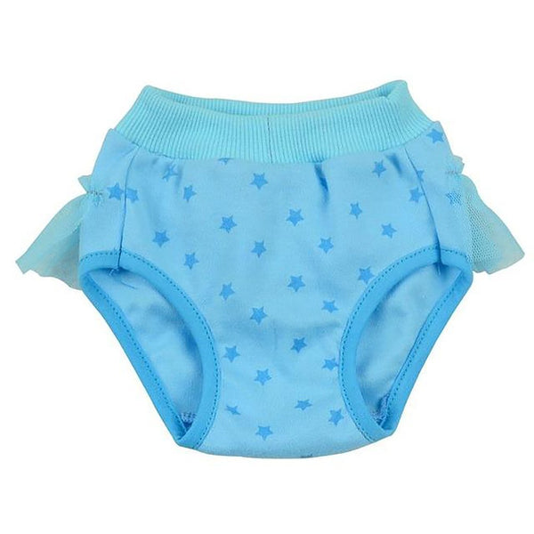 Cute Bow Hygienic Short Pants Sanitary Underwear Cotton Physiological Panties Briefs For Dogs