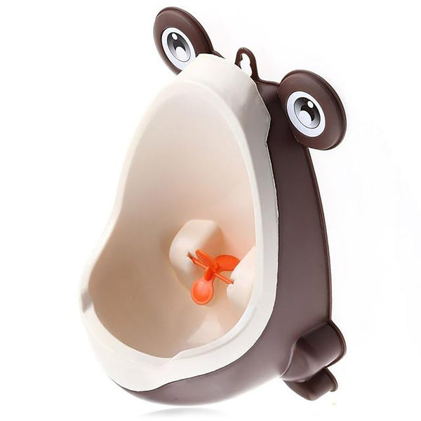 4 Color Baby Urinal Frog Shape Vertical Wall-Mounted Pee Convenient Cute Animal Boy's Potty Standing Toilet Boy Xmas Gift