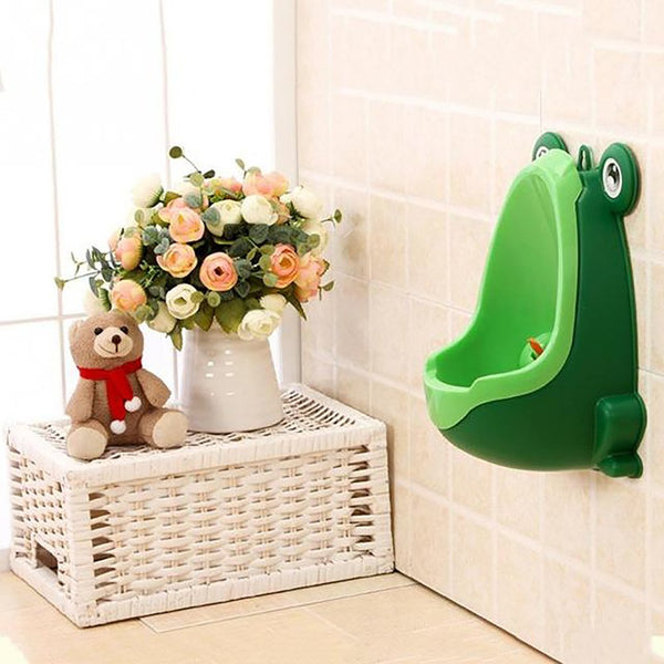 Cute Animal Shape Children Potty Removable Toilet Training Kids Urinal Urine Groove Separation Early Learning Boys Pee Trainer