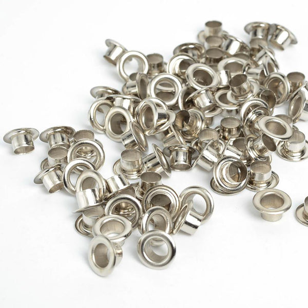 100pcs Scrapbook Eyelets Round Inner Hole 5mm Metal Eyelets For Scrapbooking Embelishment Garment Clothes Eyelets,Apparel Sewing