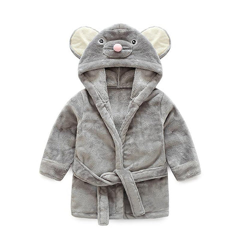 Unisex Newborn's Sleep Robe Animal Cartoon Design