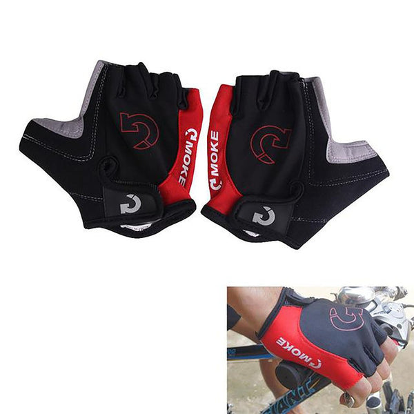 Unisex Adult's Cycling Gloves Half Finger Anti-slip Gel Pad Breathable Sports sizes X-XL