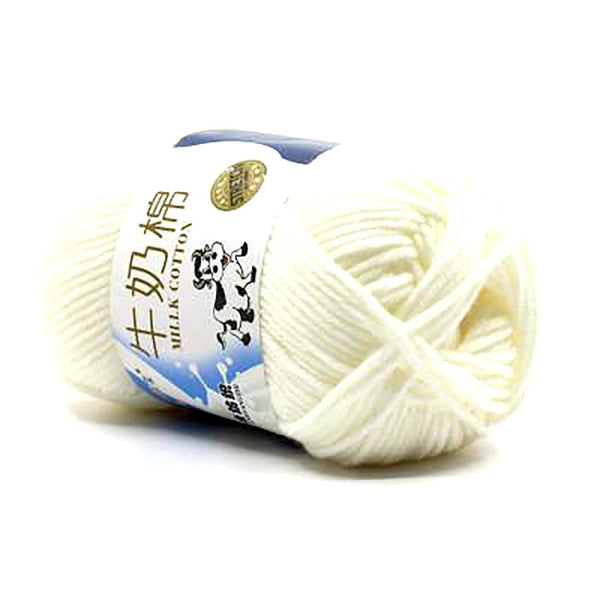 50g/ball High Quality Warm DIY Milk Cotton Yarn Baby Wool for Knitting Children Hand Knitted Knit Blanket Crochet