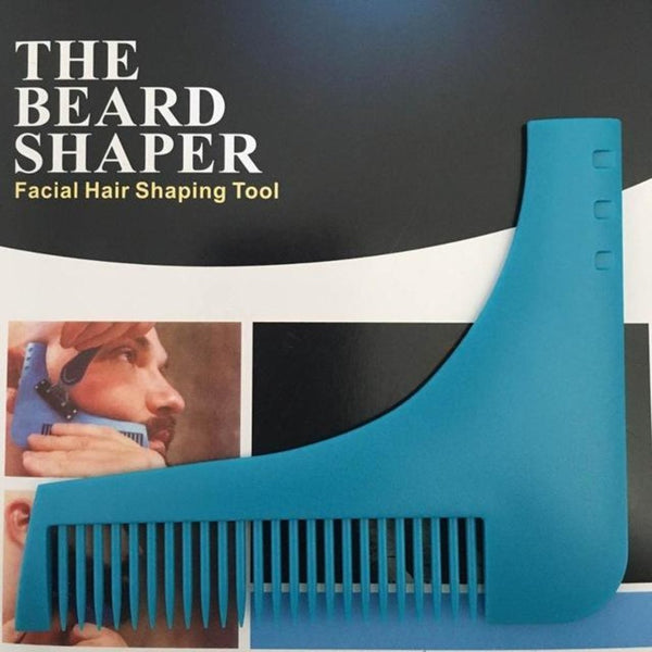 Beard Bro Hair Trimmers Shaping Styling Man Gentleman Trim Template Hair Cut Molding Clipper Beard Modelling
