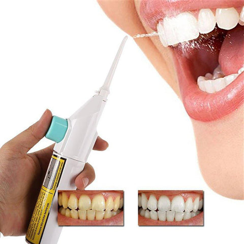 Portable Oral Irrigator Air Dental Hygiene Water Cleaner Tooth Mouthpiece