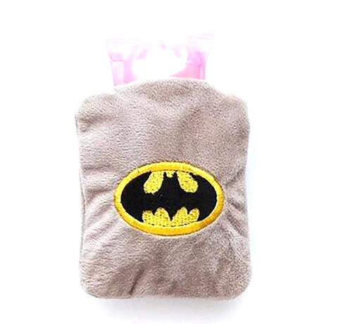 Water Bag Bottles Creative Warm Cold Avengers Batman Hello Kitty Novelty Cartoon Design