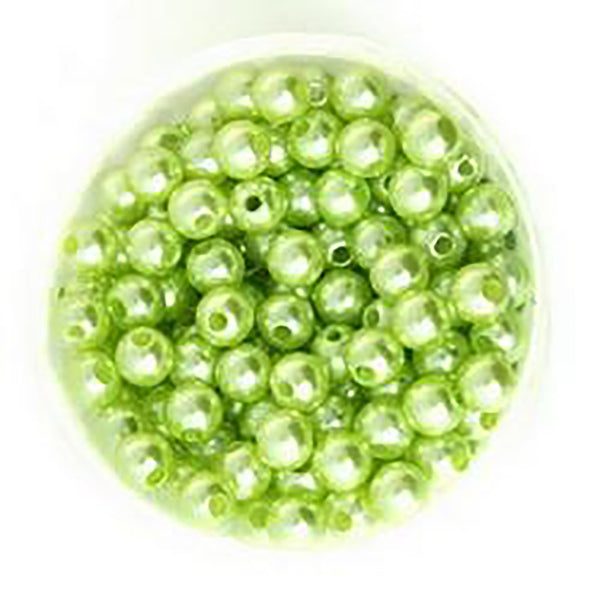 Round Pearl Beads for Making Pendants DIY